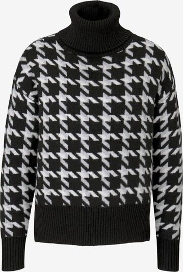MINE TO FIVE Pullover in schwarz / weiß, Produktansicht