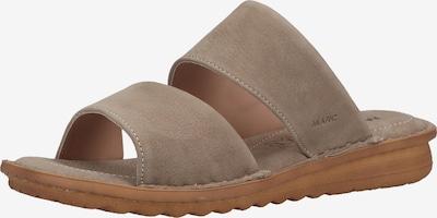 Marc Shoes Pantoletten in beige / nude, Produktansicht