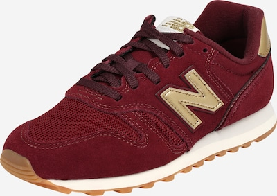 new balance Sneaker in gold / bordeaux, Produktansicht