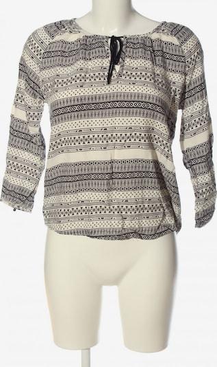 LTB Langarm-Bluse in S in schwarz / weiß, Produktansicht