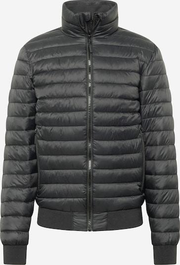 Superdry Преходно яке 'Leather Indie Club Jacket' в черно, Преглед на продукта