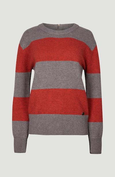 O'NEILL Sweter 'Backzip' w kolorze szary / czerwonym, Podgląd produktu