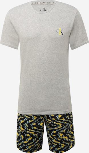 Calvin Klein Underwear Pyjama court en gris clair / gris foncé, Vue avec produit