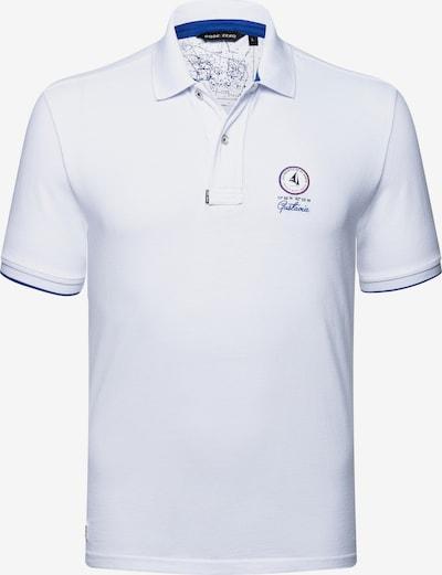 CODE-ZERO Poloshirt 'St Jean Polo' in weiß: Frontalansicht
