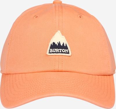 BURTON Cap in orange / schwarz / weiß, Produktansicht