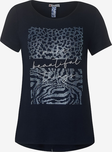 STREET ONE T-Shirt in dunkelblau, Produktansicht