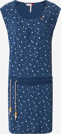 Ragwear Kleid 'PENELOPE' in blue denim / weiß, Produktansicht