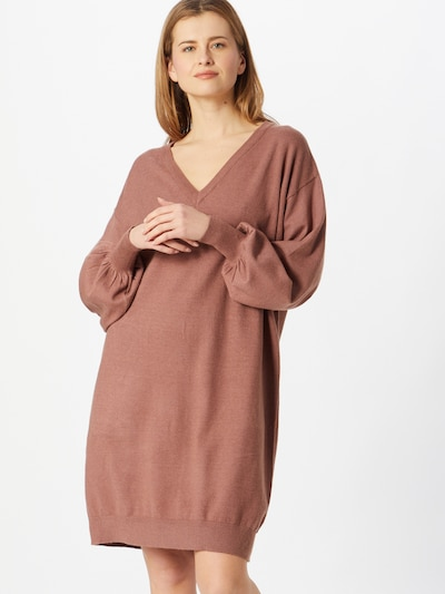 OBJECT Oversized dress 'Lisette' in Brown, View model