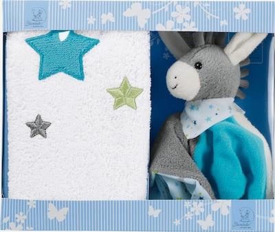 STERNTALER Geschenk-Set in blau / grau / weiß, Produktansicht