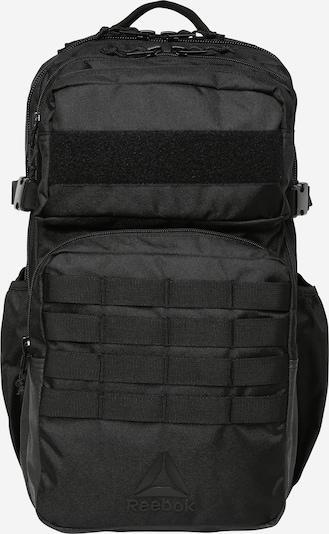 REEBOK Sportrugzak 'TRAINING DAY' in de kleur Zwart, Productweergave