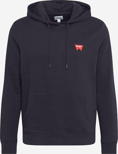 WRANGLER Sweatshirt in nachtblau / grau / melone, Produktansicht