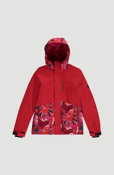 O'NEILL Sportjacke in dunkelblau / pink / feuerrot, Produktansicht