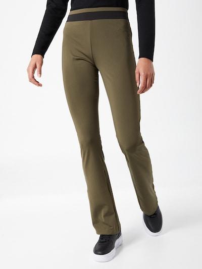 Trendyol Broek in de kleur Kaki / Zwart, Modelweergave