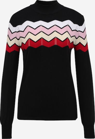 SISTERS POINT Sweater 'HOTTI' in Pink / Red / Black / White, Item view