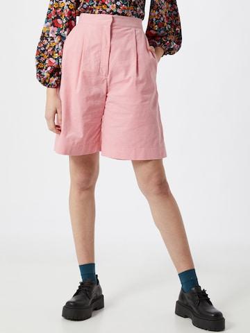 NUÉ NOTES Shorts 'Essy' - ružová