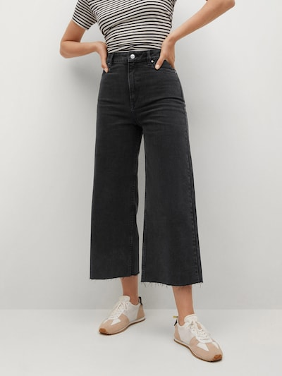 MANGO Jeans 'Carol' in black denim, Modelansicht