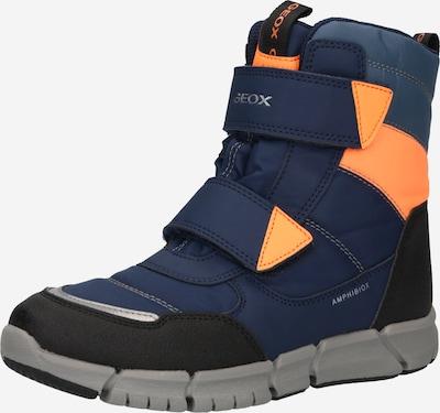 GEOX Zābaki, krāsa - tumši zils / oranžs, Preces skats