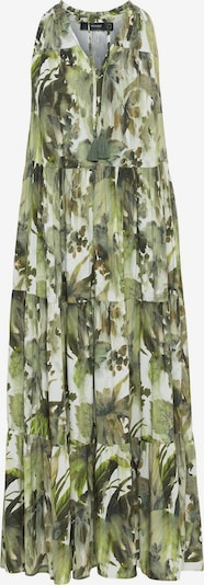 HALLHUBER Kleid in grün / hellgrün / weiß, Produktansicht