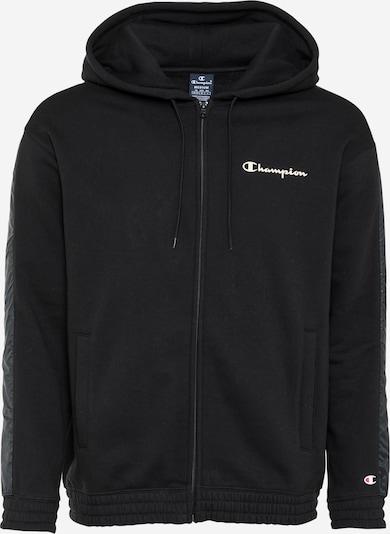 Champion Authentic Athletic Apparel Bluza rozpinana w kolorze czarny / białym, Podgląd produktu