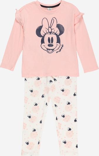 OVS Pyjama 'MINNIE' in navy / rosa / hellpink, Produktansicht