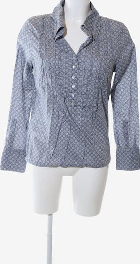 NILE Hemd-Bluse in M in blau / hellgrau, Produktansicht