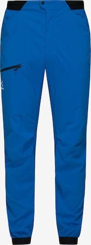 Pantalon de sport 'L.I.M Fuse' Haglöfs en bleu