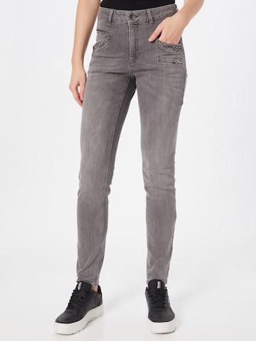 OUI Jeans in Grau