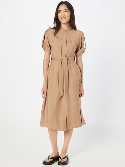 TAIFUN Kleid in hellbraun, Modelansicht