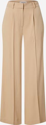Pantalon à plis 'Kelly' EDITED en beige
