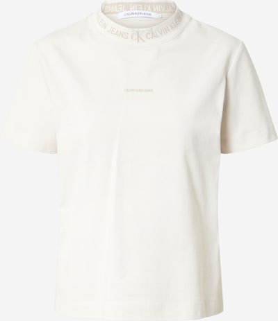 Calvin Klein Jeans T-Shirt in creme / weiß, Produktansicht
