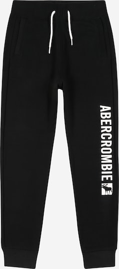 Abercrombie & Fitch Pantalón en negro / blanco, Vista del producto