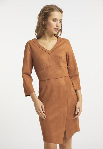 usha FESTIVAL Kleid in cognac, Modelansicht