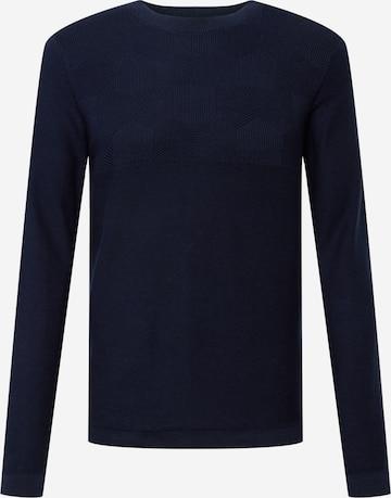 JACK & JONES Sweater in Blue