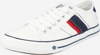 Dockers by Gerli Zemie brīvā laika apavi tumši zils / sarkans / balts, Preces skats