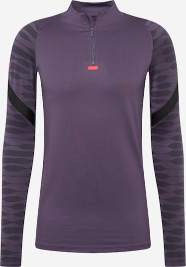 NIKE Sportiska tipa džemperis 'Strike' plūmju / melns, Preces skats