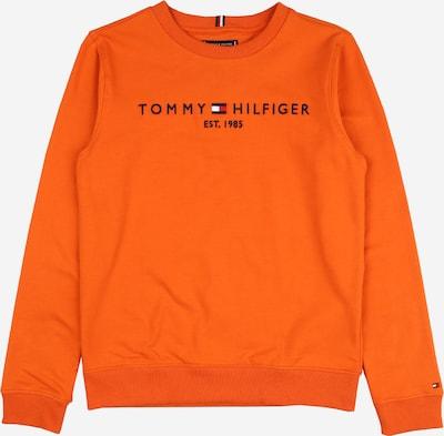 TOMMY HILFIGER Sweater majica u mornarsko plava / narančasta / crvena / bijela, Pregled proizvoda