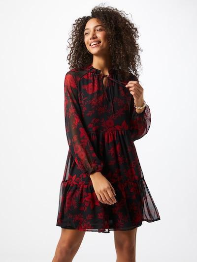 VERO MODA Kleid 'Caroline' in rot / schwarz, Modelansicht