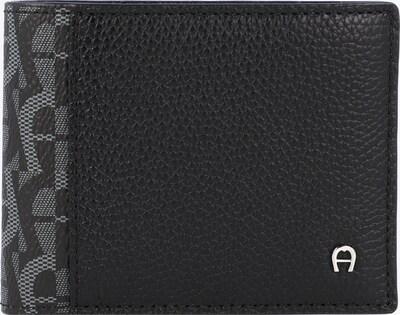 AIGNER Portemonnaie in grau / schwarz, Produktansicht