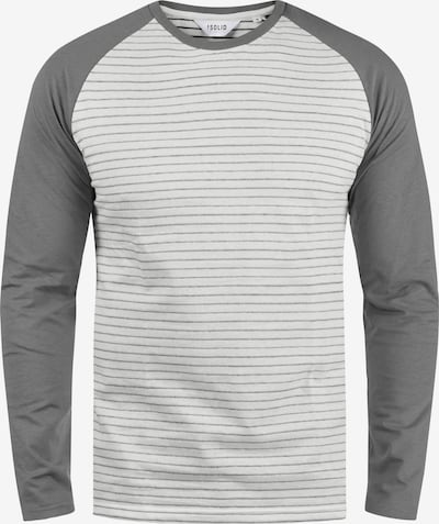 !Solid Langarmshirt 'Stepan' in grau, Produktansicht