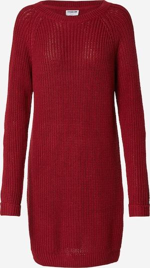 Noisy may Gebreide jurk 'Siesta' in de kleur Robijnrood, Productweergave