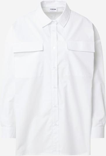 Bluză 'Pinar' Noisy may pe alb, Vizualizare produs