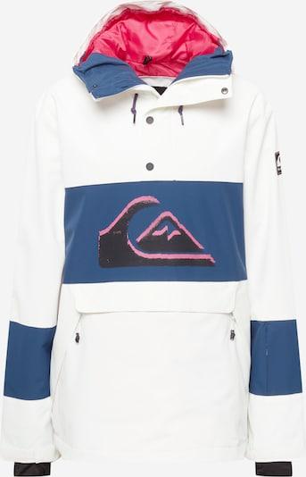 QUIKSILVER Sportjacka 'STEEZE' i marinblå / rosa / svart / vit, Produktvy