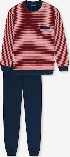 SCHIESSER Schlafanzug ' Fashion Nightwear ' in rot, Produktansicht