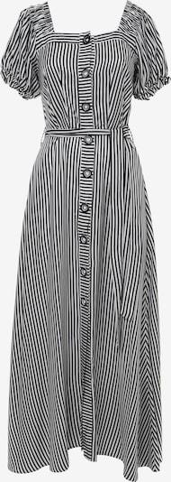 Madam-T Jurk 'FULOARIDA' in de kleur Zwart / Wit, Productweergave