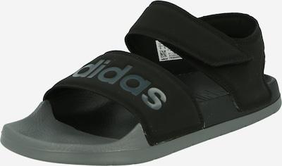 ADIDAS PERFORMANCE Sandales 'Adilette' en gris / noir, Vue avec produit