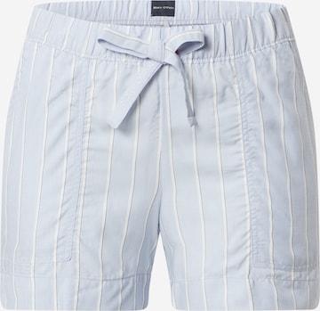 Marc O'Polo Bodywear Pajama Pants in Blue