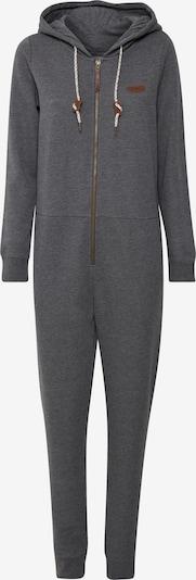 Oxmo Jumpsuit in de kleur Grijs gemêleerd, Productweergave