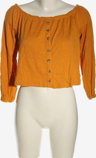 Bershka Cropped Shirt in S in hellorange, Produktansicht