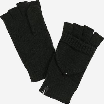 LEVI'S Γάντια με δάχτυλα σε μαύρο