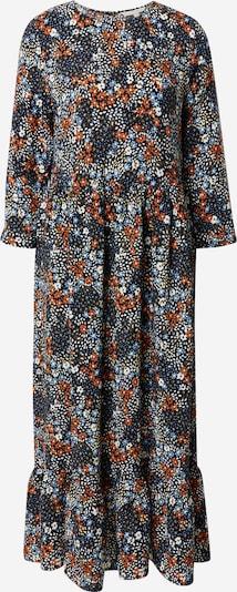 TOM TAILOR DENIM Šaty - noční modrá / světlemodrá / mix barev / tmavě oranžová / bílá, Produkt